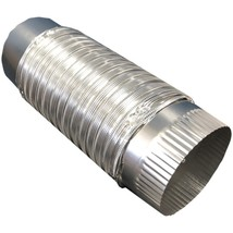 Builder's Best 111564 4-Inch x 2-Foot Semi-Rigid Push-Fit Duct - $27.07