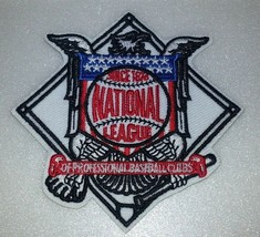 """National League~MLB~Embroidered Patch~(3 1/4"""" x 3 1/4"""") Iron Sew On~FREE Mail - $4.95"""