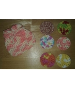 Handmade Crochet Facial Scrubbies  - $12.00