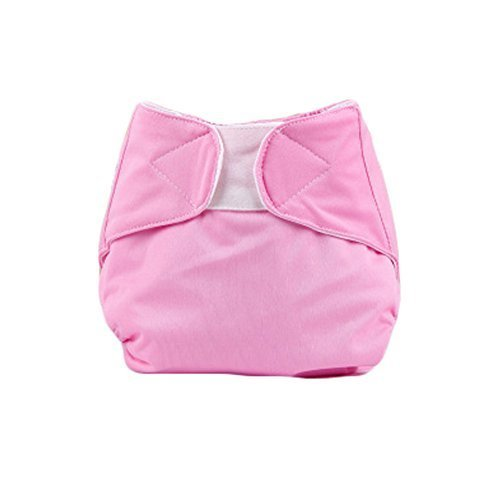 Baby One Size Leak-free Diaper Cover With Magic Tape (3-13KG,Pink)