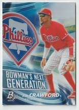 J.P. Crawford 2017 Bowman Platinum Next Generation Insert Philadelphia P... - $0.99