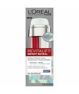 L'Oréal Paris Skincare Revitalift Bright Reveal Dual Overnight Face Mois... - $14.95
