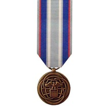 Genuine U.S. Air Force Miniature Medal: Air And Space Campaign - $15.82