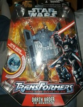 Hasbro Star Wars Transformers Crossovers: Vader & Tie Fighter Action Figure - $16.83