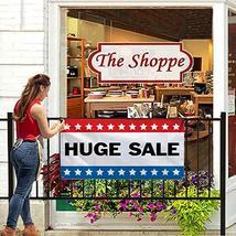 HALF PRICE BANNERS | Huge Sale Vinyl Banner -Indoor/Outdoor 2X4 Foot -Stars | In image 6