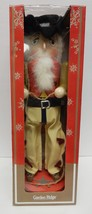 "Cowboy Nutcracker Wood Garden Ridge Western 15"" Vintage New in the  Box - $59.95"