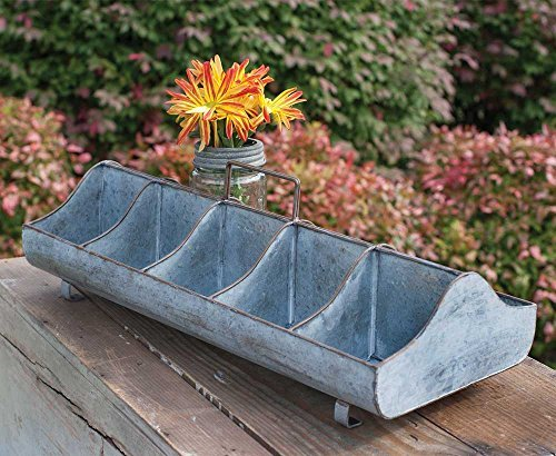 Decorative Country Decor Feeding Trough Cubby Hole Tray