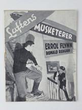 Ronald Reagan Errol Flynn Vintage Desperate Journey 1942 Danish Movie Pr... - $18.76