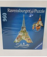 Ravensburger Silhouette 960 Pc Jigsaw Puzzle Eiffel Tower - New - $39.99