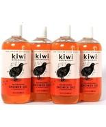 4 Bottles Kiwi Botanicals 16.5 Oz Nourishing Shower Gel With Soft Manuka... - $37.99