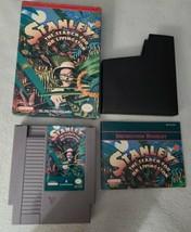 Vintage 1991 Stanley Search for Dr Livingston Nintendo NES Complete Box ... - $145.49