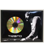Tiesto Limited Edition 24 Kt. Gold CD Display Plaque - $56.95