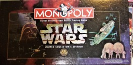 Monopoly Game - Star Wars Limited Collector's Edition  - $21.95