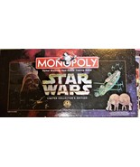 Monopoly Game - Star Wars Limited Collector's Edition  - $19.95