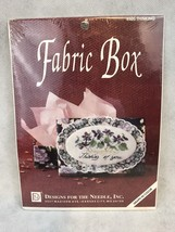 Designs For The Needle 6505 THINKING Fabric Box Vintage Cross Stitch Kit - $13.46