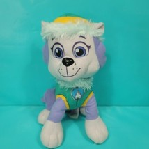 "Paw Patrol Everest Husky Purple Stuffed Animal 9"" Plush Nickelodeon Spin... - $23.75"