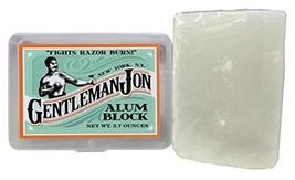 Gentleman Jon 3.7 Ounce Alum Block in Plastic Case