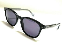 New Authentic ERMENEGILDO ZEGNA EZ0005S 05A Black/Smoke Lens 52mm Sungla... - $117.81