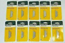 Wholesale Lot: 50 piece Klein Tools 44101 Utility Blades 10 Pks of 5 bla... - $29.95