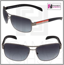 PRADA LINEA ROSSA PS54IS Gunmetal Matte Black Polarized Sport Sunglasses... - $202.26