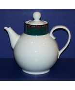 DANSK QUILTINGS EMERALD BRAID GREEN & BLACK BAND QUILT PATTERNS TEA/COFF... - $97.99