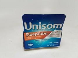 Unisom SleepTabs, Nighttime Sleep-aid, Doxylamine Succinate, 48 CT DENTE... - $12.59