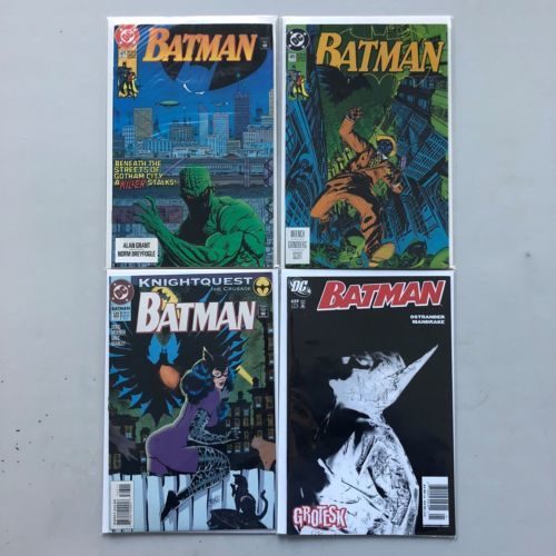 Lot of 8 Batman (1940) #465 467 468 469 471 485 503 659 VF Very Fine