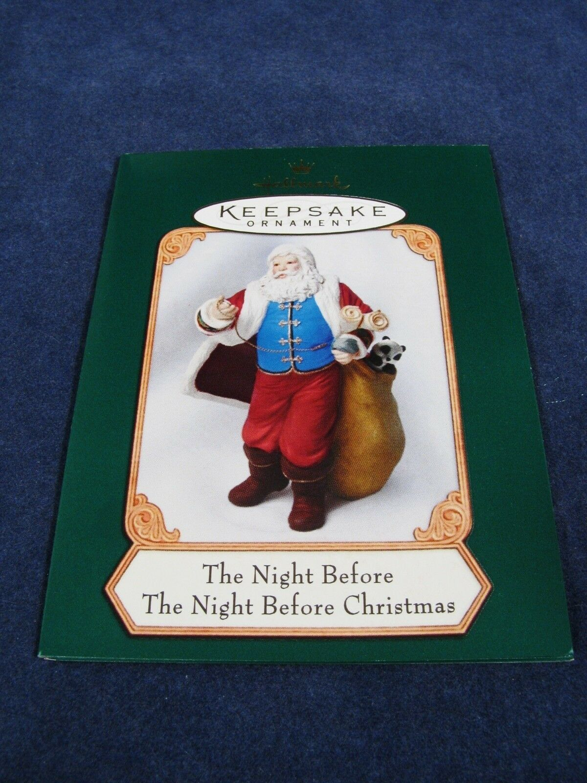 Set of 3 Hallmark Keepsake Ornament Collector's Club Lettera Globus Mrs Claus image 6