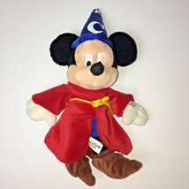 "Disney Mickey Mouse Fantasia Sorcerer 12"" Doll Plush - $17.35"