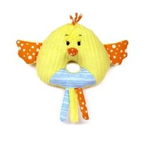 "Baby Ganz Hennie Hand Rattle Chicken 3.5"" - $9.95"