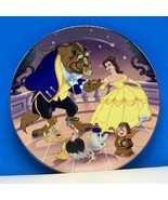 Walt Disney collector plate Beauty and the beast cartoon classics Belle Kenleys - $44.50