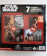 Star Wars The Force Awakens 7 Puzzle Pack - $50.00