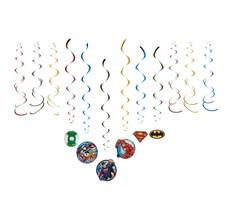 American Greetings Superman Batman Justice League Hanging Party Decorati... - $4.04