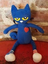 """Pete the Cat Plush Stuffed Toy Animal I Love My White Shoes by MerryMakers 10"""" - $11.13"""