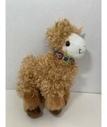 "ABC Bakers plush brown tan llama alpaca Girl Scouts 9"" 2016 2017 stuffed... - $7.91"