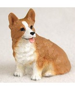 WELSH CORGI PEMBROKE TINY ONES DOG Figurine Statue Pet Lovers Gift Resin  - $8.99