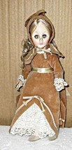 Effanbee Seasons Autumn Doll Hard Plastic 1980s... - $12.95