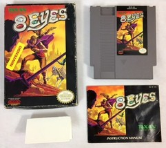 8 Eyes (Nintendo Entertainment System NES, 1990), Complete in Box - $23.74