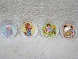 Lot of 4 Mother's Day/Cherished Moments Miniature Avon Plates Years 1981-1984 - $9.85