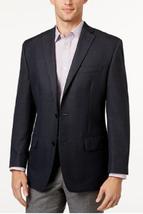 MICHAEL Michael Kors Men's Classic-Fit Blue Houndstooth Sport Coat, 42R,... - $143.54