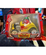 M&M's Rebel Without A Clue Yellow Hot Rod Candy Dispenser - Limited Edit... - $19.80
