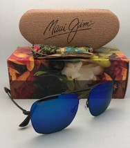 New MAUI JIM Polarized Sunglasses LAVA TUBE MJ 786-02S Gunmetal with Blu... - $299.95