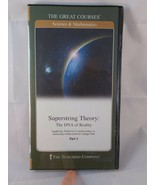 The Great Courses Superstring Theory: The DNA of Reality Part 1 ONLY DVD - $5.90