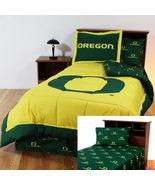 Oregon Ducks Queen Comforter Sham and Sheet Set - $119.90