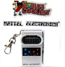 Mattel Classic Football Electronics Game Smallest Handheld Game Worlds C... - $16.14