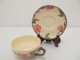 Franciscan Desert Rose - Teacup / Coffee Cup & Saucer - Made in England - $16.00