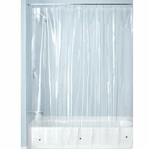 Clear Shower Curtain Mildew Free PEVA 3 Gauge Shower Bathroom Liner 72 x 72 Inch - $24.62