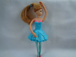 McDonald's 2012 Barbie in The Pink Shoes Giselle Doll Blue Outfit - as is - $1.55