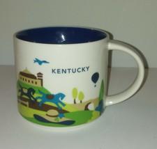 Kentucky Starbucks Mug / 2018 Been There Series 14 Oz Coffee Tea Home Of... - $29.09