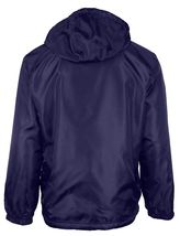 LAX Men's Premium Water Resistant Security Reversible Jacket With Removable Hood image 9